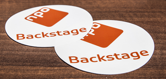 NPO Backstage stickers